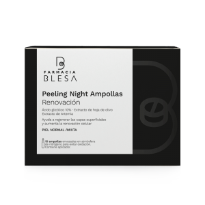 ampollas peeling night farmacia blesa