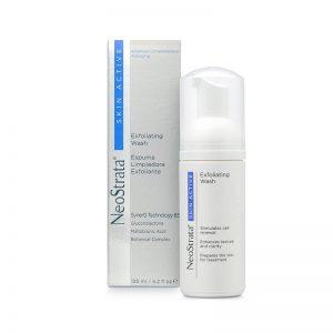 neostrata skin active espuma exfoliante