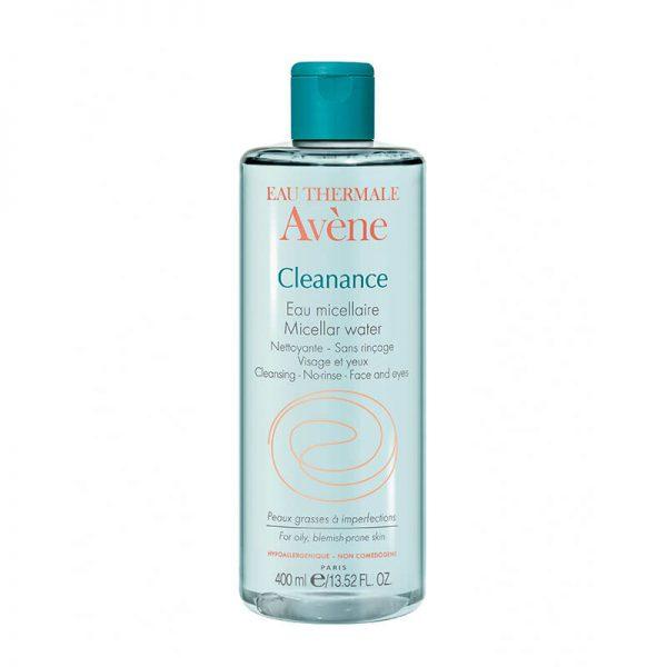 agua micelar cleanance