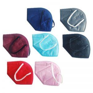 mascarillas ffp2 colores 10 unidades