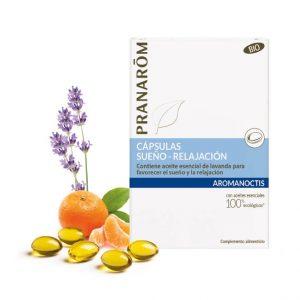 aromanoctis capsulas sueño relajacion